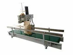 Automatic Bag Closing Machine with Conveyor