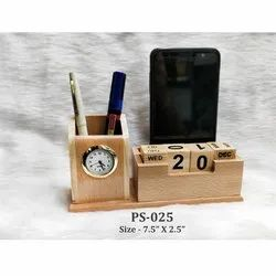 Calender Pen Stand With Pen Holder