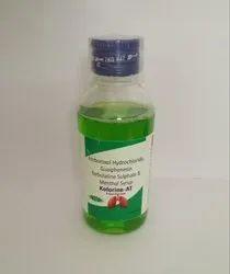 Amroxal & Terbutaline Guaphensin Menthol Syrup