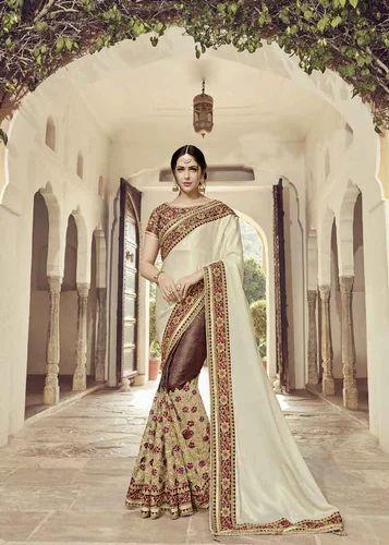2edb619141 Sarees - Designer Heavy Work Saree Wholesaler from Surat