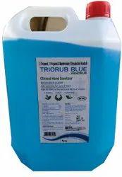 Triorub Blue Hand Sanitizer - 5 Ltr. Pack