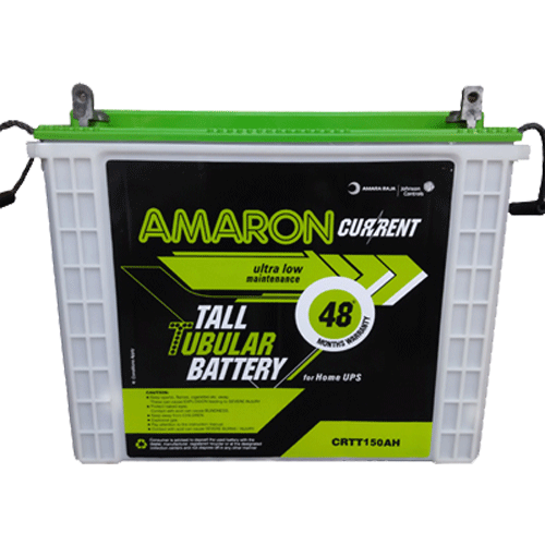 Amaron Current Tall Tubular Battery 165 Ah For Home Use