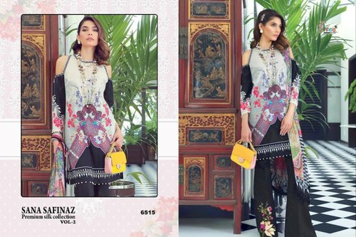 e8fba3e0e7 Shree Fabs Sana Safinaz Premium Silk Suit at Rs 699 /set | Haripura ...