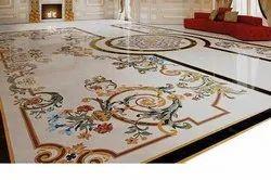 Flooring Inlay Mosaic Work