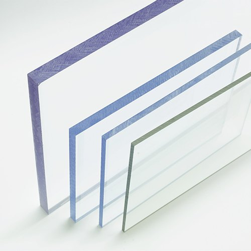 Glossy Polycarbonate Solid Sheet, Thickness: 0.8mm - 12.0mm