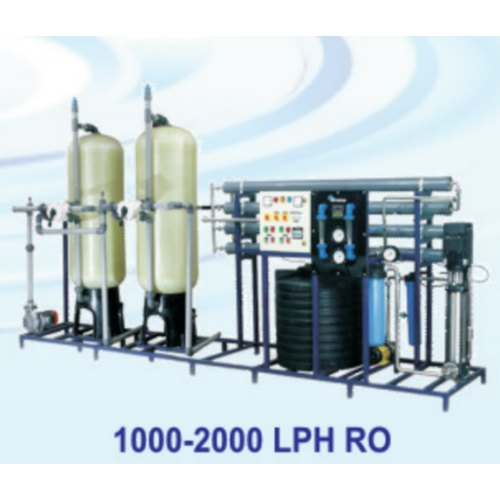 Stainless Steel 1000-2000 LPH RO System, Automation Grade: Automatic, RO Capacity: 1000-2000 (Liter/hour)