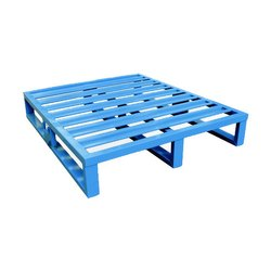 2 Way Mild Steel Industrial MS Pallet, Capacity: 1 - 2 Ton
