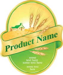 Self Adhesive Product Label
