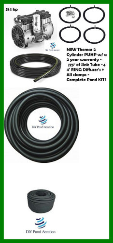Fish Pond Aeration System at Rs 98500