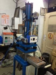 Hydro Pneumatic Press Blister Sealing Machine With Cutting and Creasing