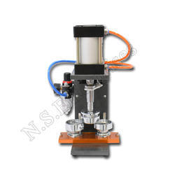 Automatic Hydraulic Badge Machine