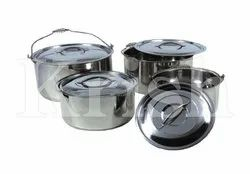 Chef Stock Pot With Wire Handle