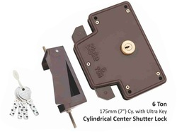Center Shutter Lock with Ultra Key