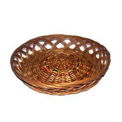 Bamboo Designer Round Jali Basket