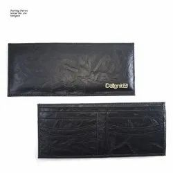 Male Black Promotional Purse