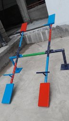 Mild Steel Playground Seesaw