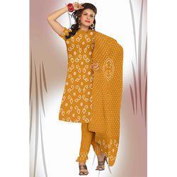 Stylish Print Bandhani Suit