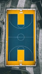 Basketball Court Flooring Service, For Sports Ground