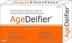 Co-Enzyme Q10 L-Carnitine L-Arginine Omega 3 Fatty Acid Soft Gelatin Capsules