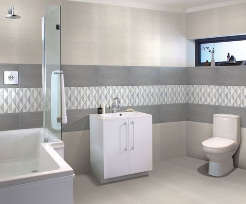 Ceramic Bathroom Vitrified Tiles Size 600x600 Mm Rs 340