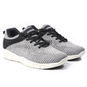 Sagma Sports Men Grey Breathable Running Shoes, Size: 10