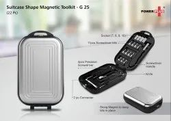 G25 - Suitcase Shape Magnetic Toolkit (22 Pc)