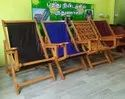 Wooden Relax Chair With Colors