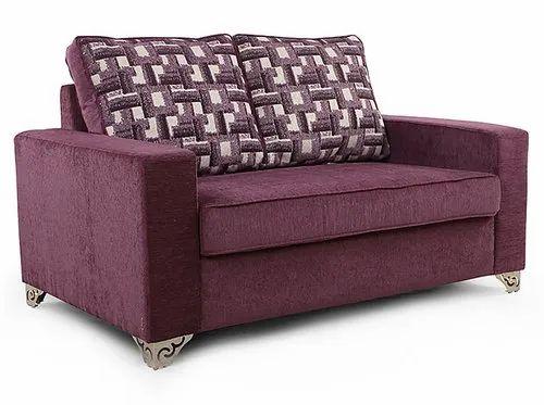 Arra Lexus Purple 2 Seater Sofa At Rs