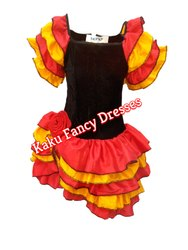 Kids Famingo Girl Costume