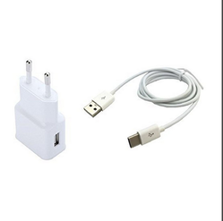 White OEM Samsung AC Power Travel Charger
