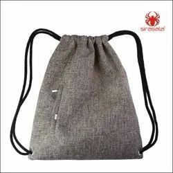 Stylish drawstring backpack bag