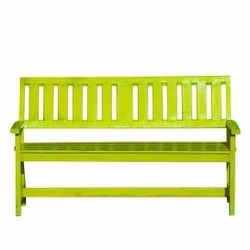 Mint Green Wooden Garden Bench Size 52 X 20 X 34 Inch Id