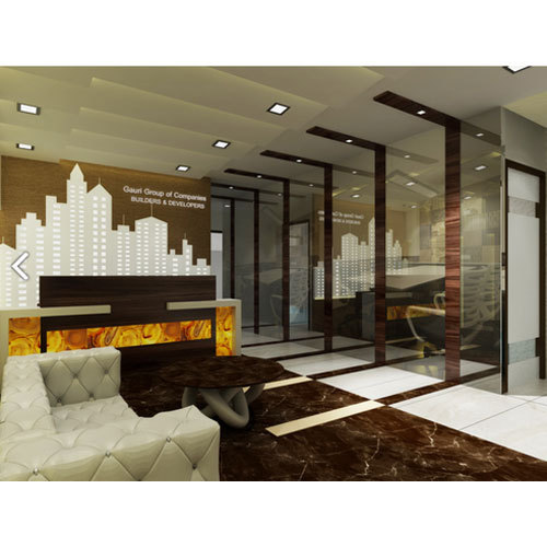 Modern Interior Design Trends In Wallcoverings: Modern Office Interior Designing Services In Borivali West