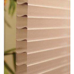 Polyester Brown Triple Shade Shangri La Blinds