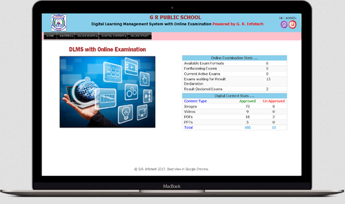 Online Exam Management System, Computer And Mobile Softwares & Apps