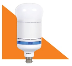 White Surya Jumbo LED Lamp