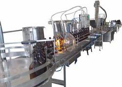 Automatic Bottle Filling Plant