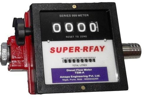 Amspa Mechanical Turbine Flow Meters, Model Name/Number: Super Arfay