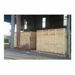 Non-Edible Heavy Duty Nut Bolt Wooden Packing Box, Capacity: 1000-2000 Kg