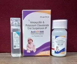 Excel Cv Duo Dry Syp (Amoxicillin Clavulanic Acid Double Strength)