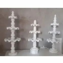 White Decor Marble Stone Fountain For Decoration