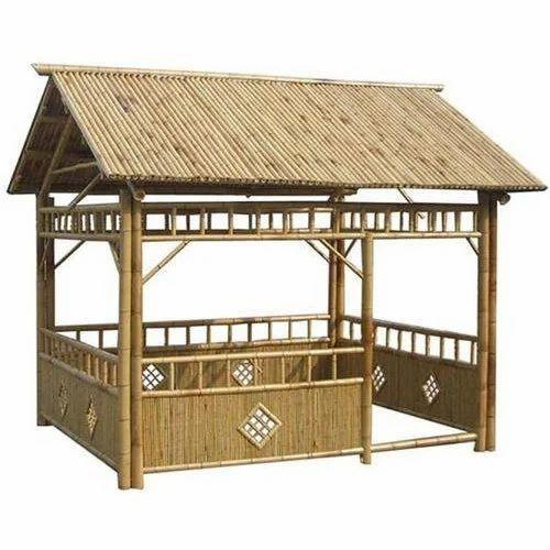 Hut Design: Bamboo Hut At Rs 300 /square Feet