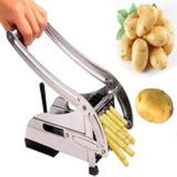 D0083_Stainless Steel French Fries Potato Chips Strip Cutter Machine