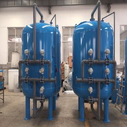 Activated Carbon And Fiberglass Filtration System, Flow Rate (Cubic Meters/Hr):0-500, 500-1000, 1000-2000