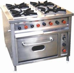 KKE Stainless Steel Four in One Burner with Oven