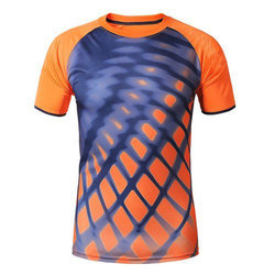 71cba4df9ce7 Polyester And Printed Mens Sports T-Shirt