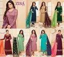 Zisa Vol 54 Designer  Banarsi Dupatta  Suit