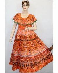 Rajasthani Printed Ladies Frock
