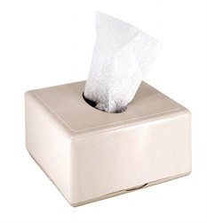 Pearl White Tabletop Pop Up Napkin Dispenser, Packaging Type: Box, Dimension/Size: 12.0 Cm X 6.8 Cm X 12.0 Cm