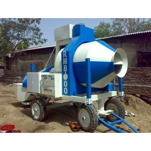 TOPCON ENG Reversible Concrete Mixer, Output Capacity (Cubic Meter / Hour): 560 Liters